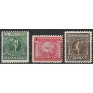 179-181** VIIth Olympic games at Antwerp.