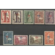 272A-272K** Orval - 1st serie- special print with 'L'-Crown and '19-8-29.