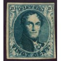 """4 (*) H.M. King Leopold I type """"Medaillons""""."""