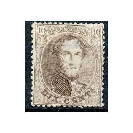 "14B (*) H.M. King Leopold I type ""Perforated Medallions ""."
