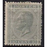"""17 (*) H.M. King Leopold I type """"In profile""""."""