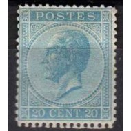 """18 (*) H.M. King Leopold I type """"In profile""""."""