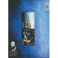 BL218** Europe: 200 year Adolphe Sax.