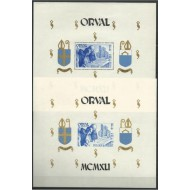 "BL11-12** 4th Serie of 'Orval' with print ""ORVAL MCMXLI"""